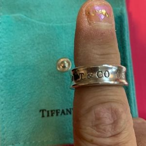"Tiffany & Company Sterling Silver Ring ""6"""